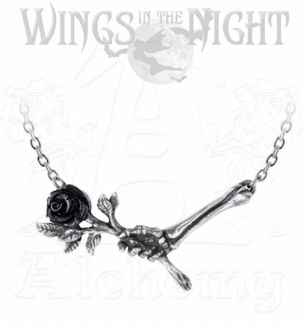 ALCHEMY GOTHIC Love Never Dies Pendant Necklace